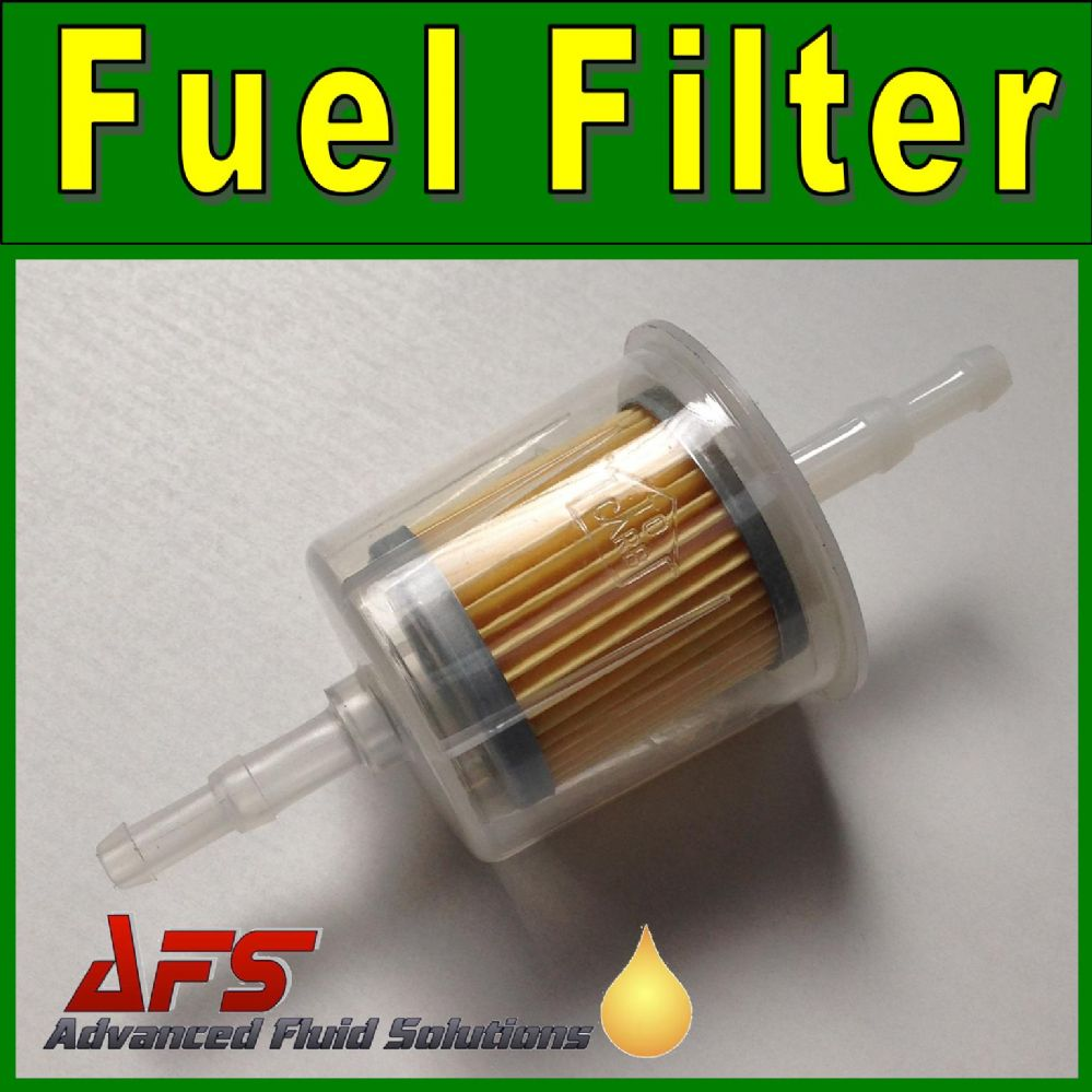 hight resolution of small inline fuel filter